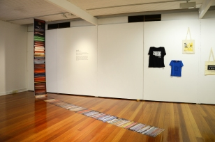 Installation view. Used with permission. Credit: Chaohui Xie.